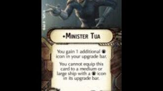 """How-to use Officer """"Minister Tua"""" - Star Wars Armada Explained (SWAE)"""