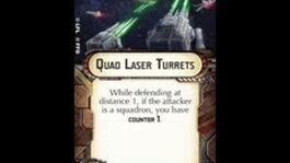 "Star Wars Armada explained How-to use Offensive Retrofit ""Quad Laser Turrets"""