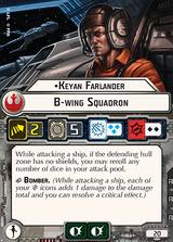 Keyan Farlander B-wing Squadron