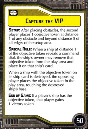 Objective-yellow Capture the VIP