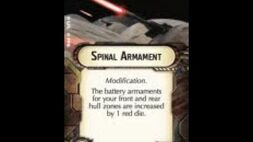 """How-to use Turbolasers """"Spinal Armament"""" - Star Wars Armada Explained (SWAE)"""