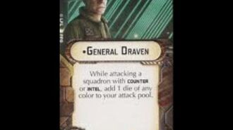 """How-to use Officer """"General Draven"""" - Star Wars Armada Explained (SWAE)"""