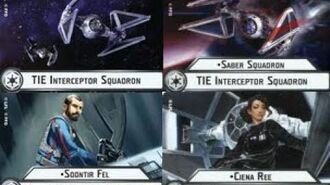 """How-to use Squadron """"Tie Interceptor"""" (and Uniques) - Star Wars Armada Explained (SWAE)"""