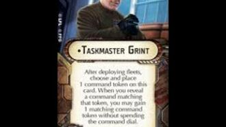 """How-to use Officer """"Taskmaster Grint"""" - Star Wars Armada Explained (SWAE)"""