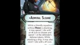 """How-to use Commander """"Admiral Sloane"""" - Star Wars Armada Explained (SWAE)"""