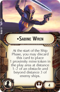 Officer-Rebel Sabine Wren