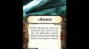 """How-to use Title """"Avenger"""" - Star Wars Armada Explained (SWAE)"""