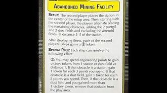 "How-to play Objective ""Abandoned Mining Facility"" - Star Wars Armada Explained (SWAE)"