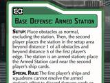 Base Defense: Armed Station