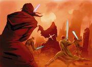 Trayus vs Jedi