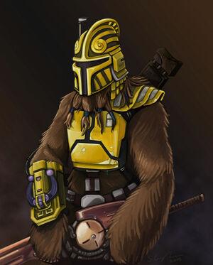 WookieeMando01 full preview BY Jawastu on SWAG
