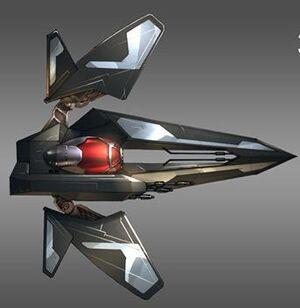 Theta 1 fighter