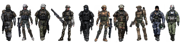 TROOPVARIANTS