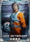 Luke Skywalker X-wing pilot 4S