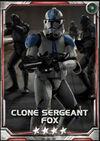 Clone Sergeant Fox