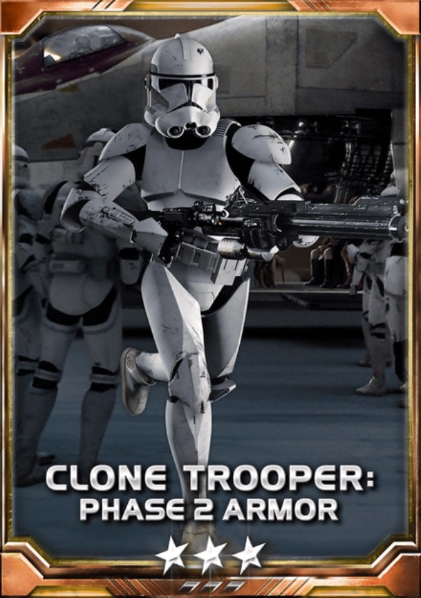 Clone Trooper Phase 2 Armor 3S
