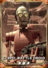 C-3PO Battle droid 3Stars Small