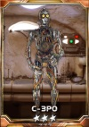 C-3PO Without coverings 3S