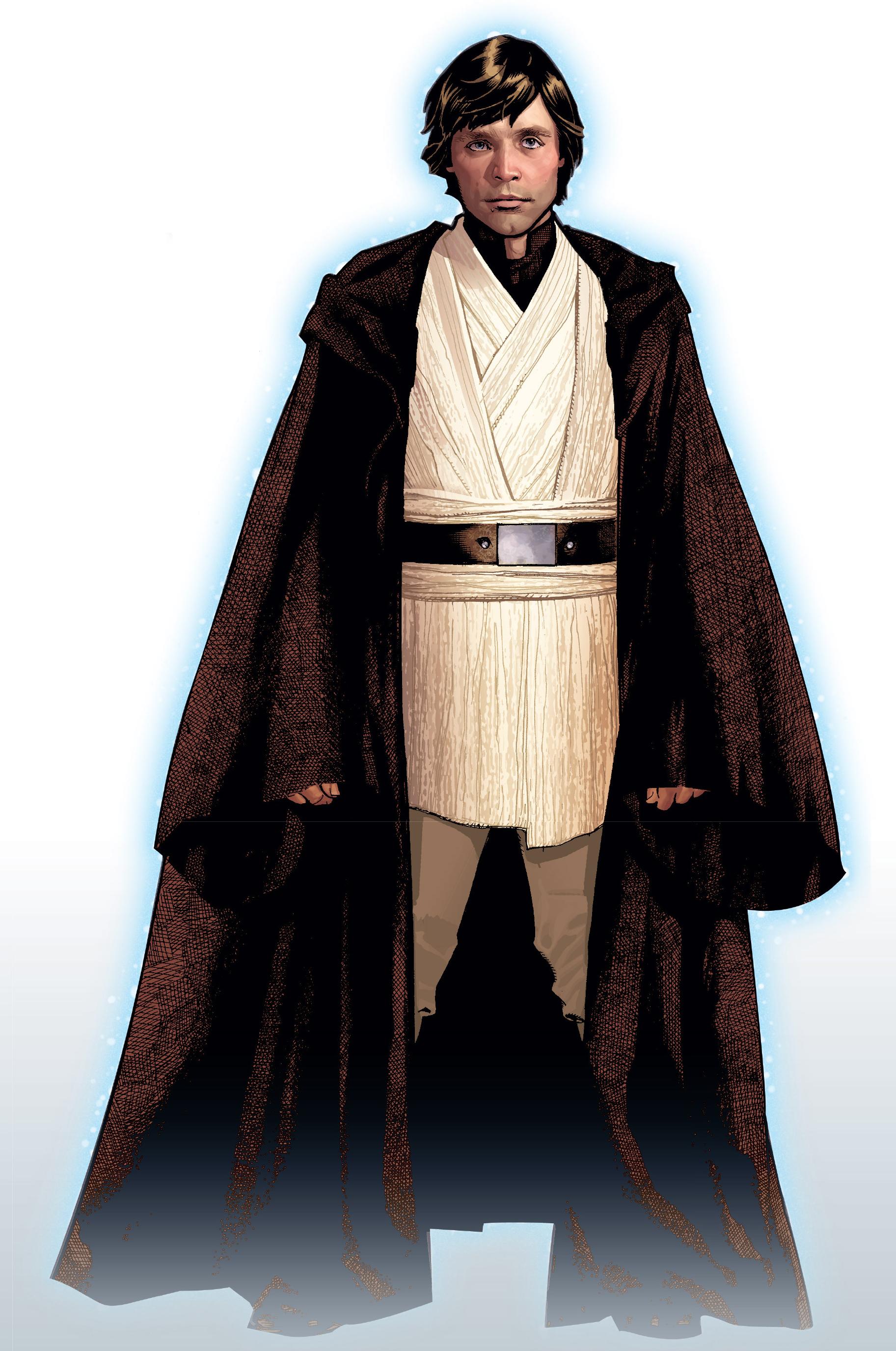 Luke Skywalkeru0027s Force Ghost, As He Appeared To Cade Skywalker.