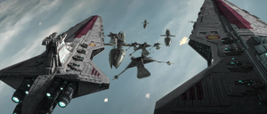 Skywalker fleet Sabotage