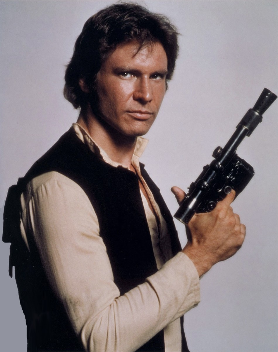 Star Wars GENTLE GIANT BUST UPS Han solo avec Ceremonial Medal loose