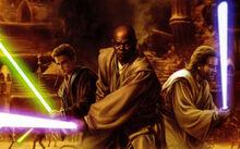 Jedi on Geonosis by Trevas