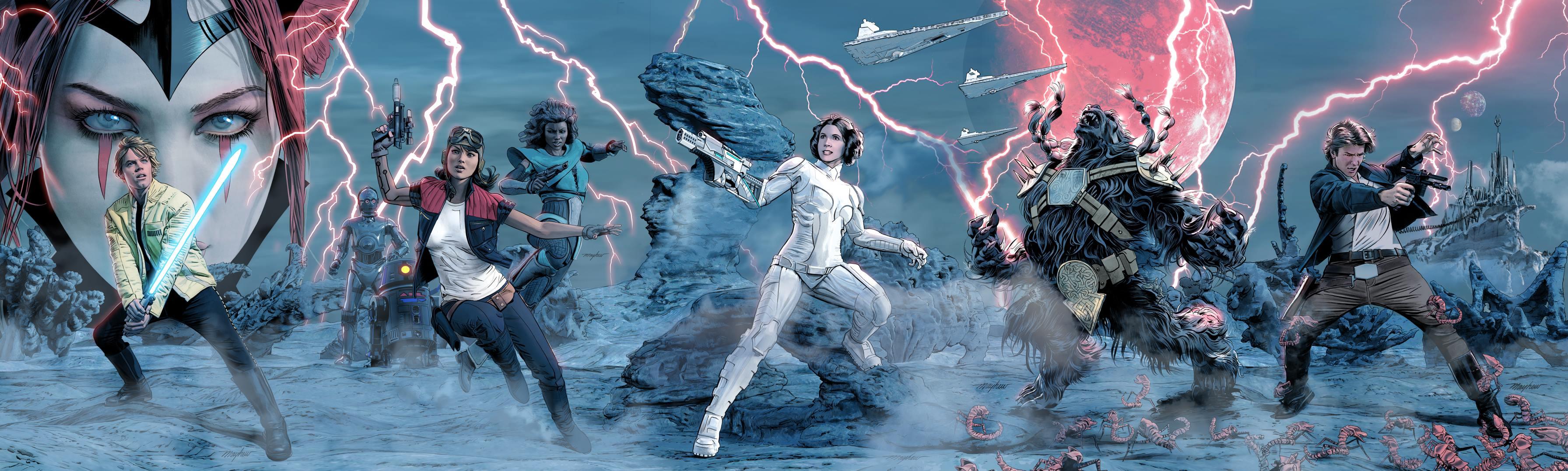 Star Wars Screaming Citadel Marvel Graphic Novel Comic Book