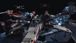 Valeria X-wing A Perilous Rescue