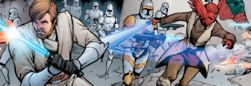 Assault on Mandalorian supply outpost