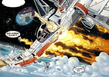 Klivian X-wing crash