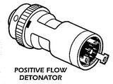 Positive flow detonator