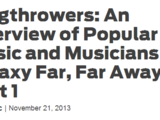 Slugthrowers: An Overview of Popular Music and Musicians in a Galaxy Far, Far Away