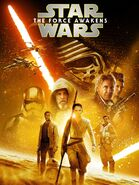 Star Wars Episode VII The Force Awakens 2019 release cover