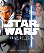 Star Wars Year by Year 2016 cover