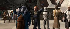 Triumphant fighters on Ryloth