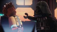 Darth Vader interrogating Rowan