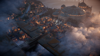 Naboo - Theed during Clone Wars
