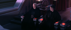 Palpatine and Anakin