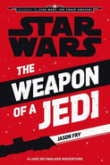 The Weapon of a Jedi Egmont Paperback Cover