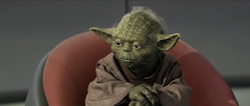 Yoda in de High Cuncil