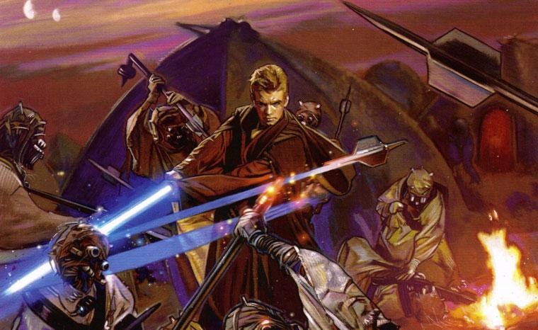 Image Anakin Slays Tuskenjpg Wookieepedia Fandom Powered By Wikia