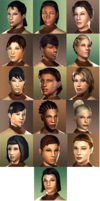 Faces of the exile