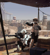SW Legion Scout troopers