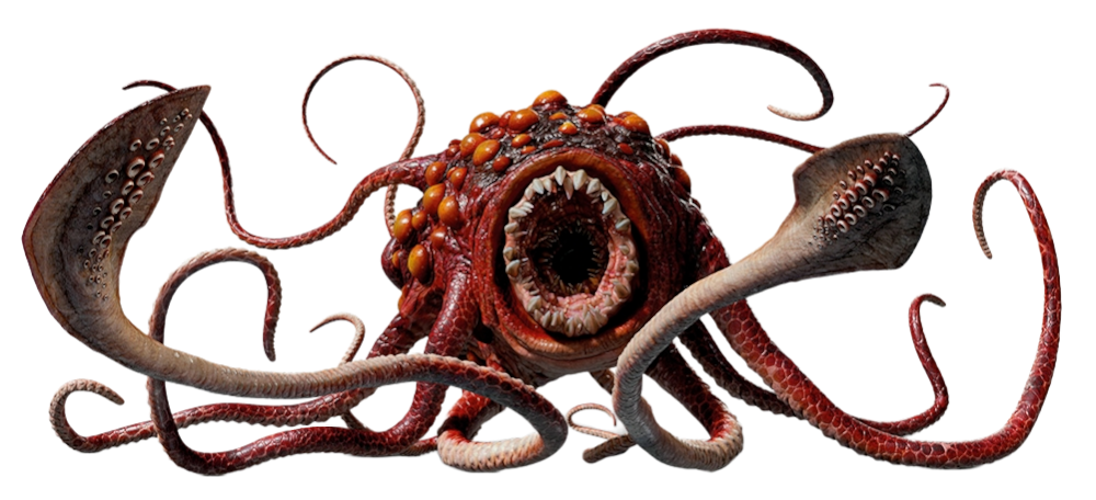 LEGO Dark Red Octopus Sea Animal