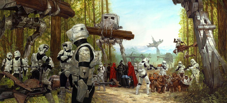 Battle Of Endor Wookieepedia Fandom Powered By Wikia