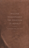 Shakespeares Phantom of Menace Cover Without Dust Jacket