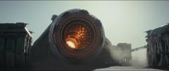 Battering ram cannon