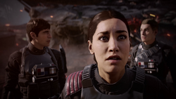 Inferno Squad witness the destruction of Death Star II