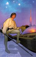 Luke Skywalker LHFTG art