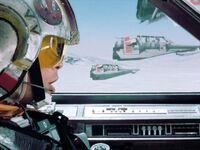 Luke leads Rogue Squadron